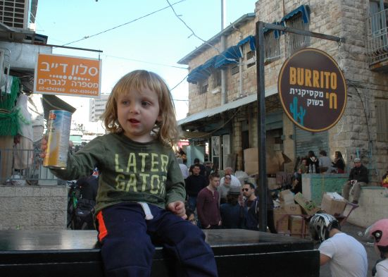 Michel and Missy's Son Yisrael Chai
