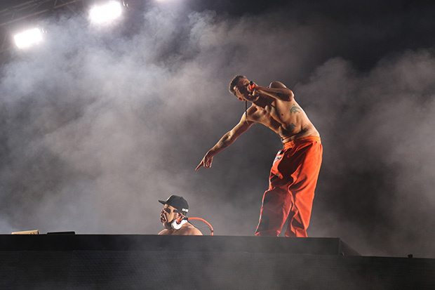 Ninja and DJ Hi-Tek