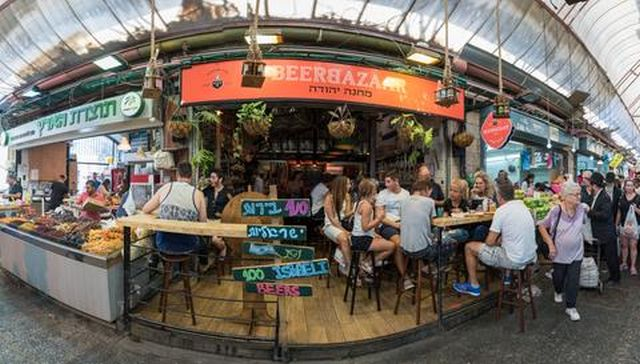 beer bazzar jerusalem sponsored the OurCrowd summit