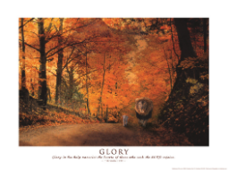 Grace Reflections Glory Poster