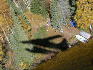 Ontario Moose Hunt Camp Fly-Over