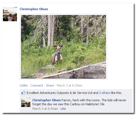 The Kids Will Never Forget The Caribou!