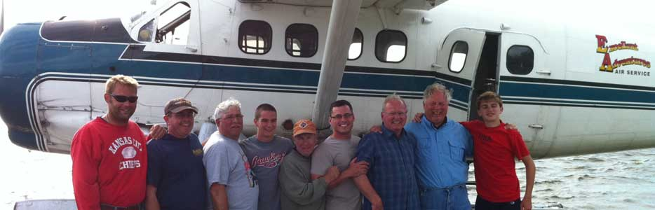 Gemlich Party After Their Fly in Fishing Trip!