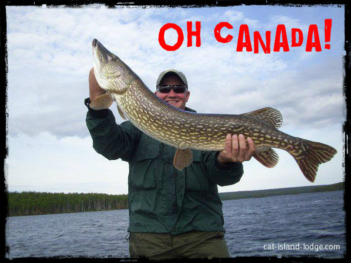 Canadian Fly in Fishing Trip