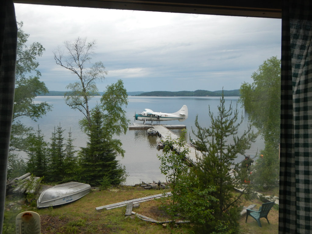 View of the lake - Fly in Outpost Cabin Fishing