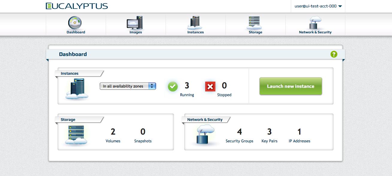Eucalyptus Console | Eucalyptus Private AWS-compatible Cloud