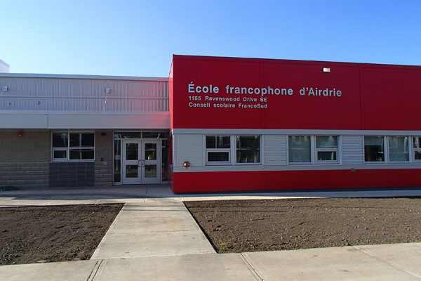 Airdrie K-12 Francophone School, Airdrie, AB