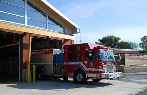 Firehall #5 Replacement
