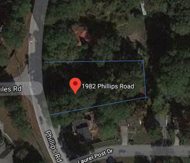 Raw lot for sale DeKalb county, Lithonia. Owner financing available!