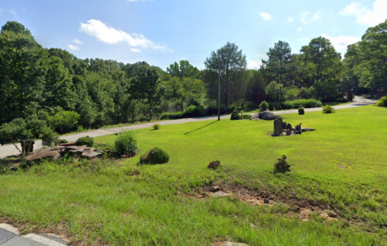 4 acres of raw building land off flat creek trail in Fayetteville!!