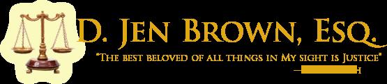 D. Jen Brown, Esq.