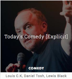 today's comedy on slacker