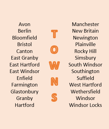 North Central Towns