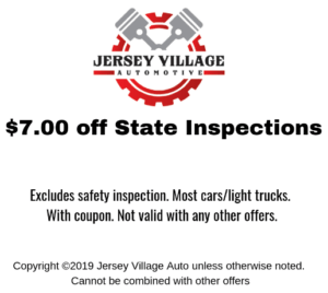 $7 off State Inspections