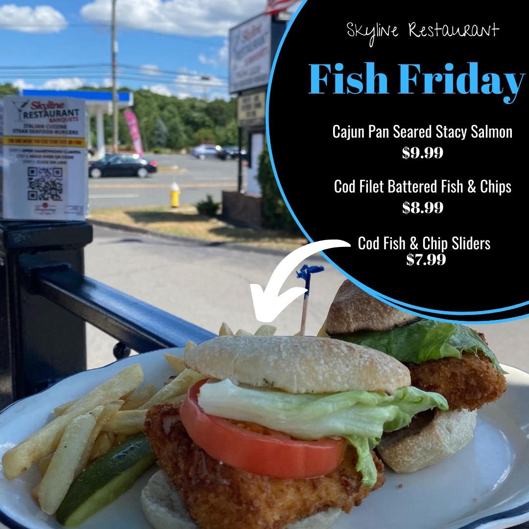 Friday Fish Lunch Lunch, Skyline Restaurant