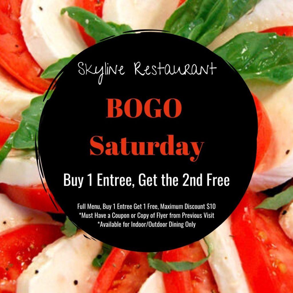 Skyline Restaurant BOGO Saturday