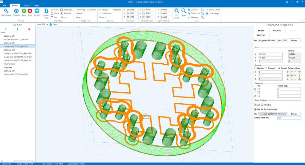 PCB Processing Automation