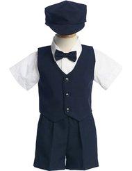 Lito Blue Vest with Blue Shorts1