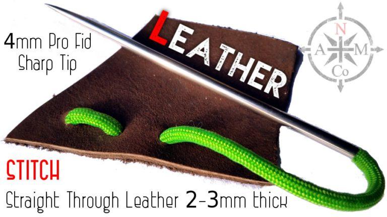 Paracord Fid Through Leather North Arm Machete Co.