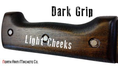 Tramontina machete Bolo handle modified for better grip
