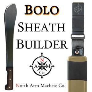 Tramontina Bolo build your own custom Hard-Shell sheath