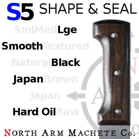 Tramontina machete Bolo handle modified by North Arm Machete Co