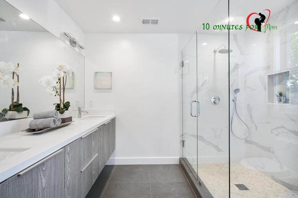 bathroom ideas -10 minutes for mom