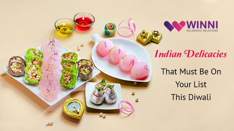 Happy Diwali sweets winni