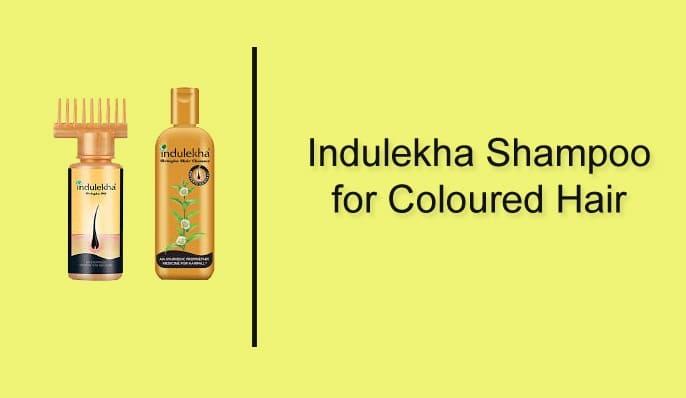 Indulekha Shampoo for coloured hair image source [www.nykaa.com]