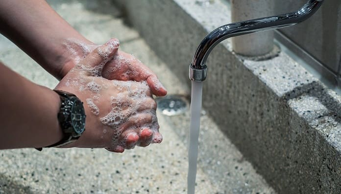 Washing your Hands for 20 Seconds