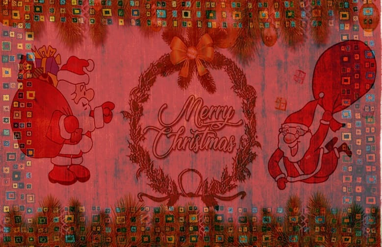 Beautiful Christmas Rugs and Welcome Mats