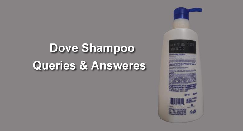 Dove Shampoo Queries