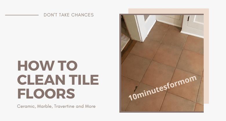 How to Clean Tile Floor