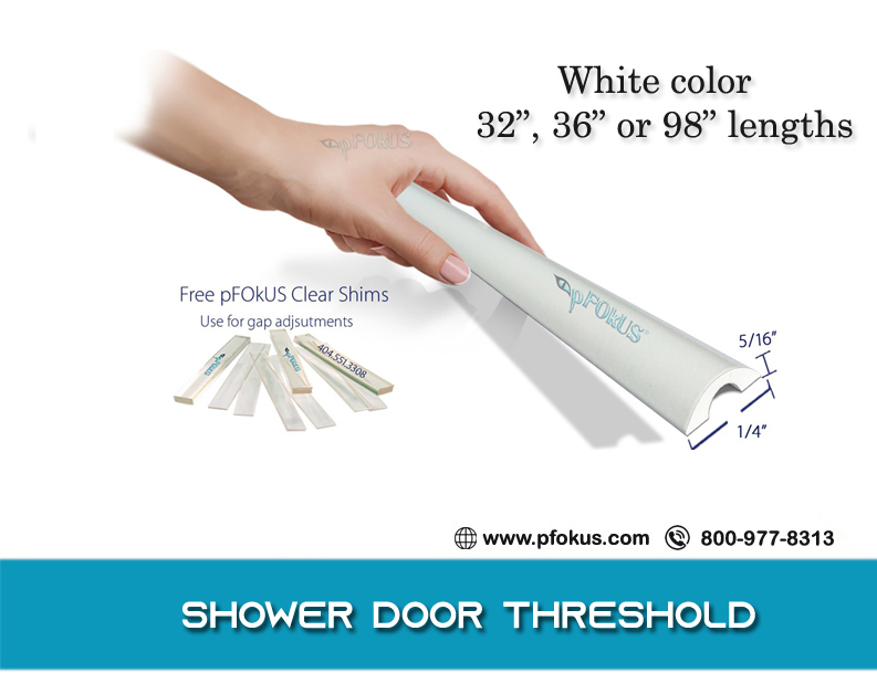 Shower Door Threshold