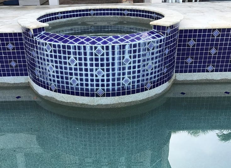 Calcium Scaling Occur on your Pool Tile