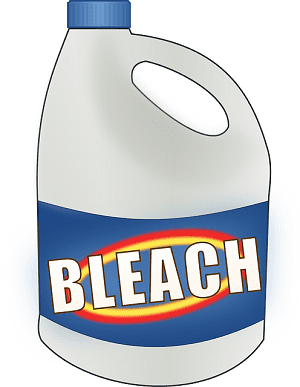 Mopping with Bleach