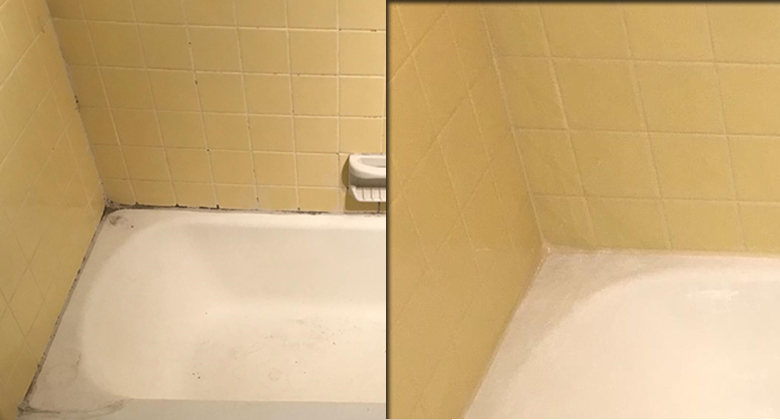 How to Caulk - tub, bathroom, sink, countertop corners