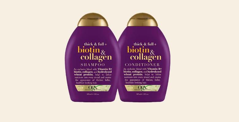 OGX Biotin & Collagen Shampoo - 10minutesformom