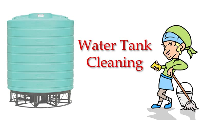 DIY Home Water Tank Cleaning