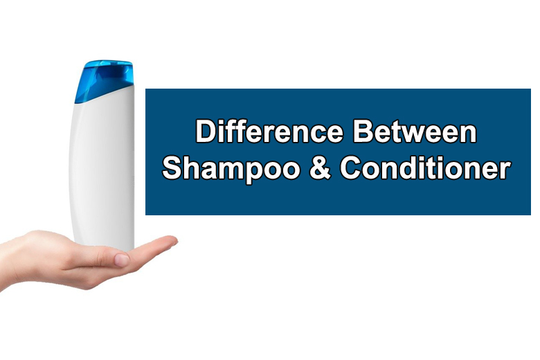 The basic difference between a shampoo and conditioner is just like there is between a soap and a moisturizer. There are also other differences.