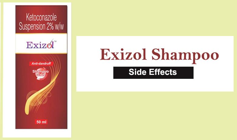 Exizol Shampoo - Side Effects