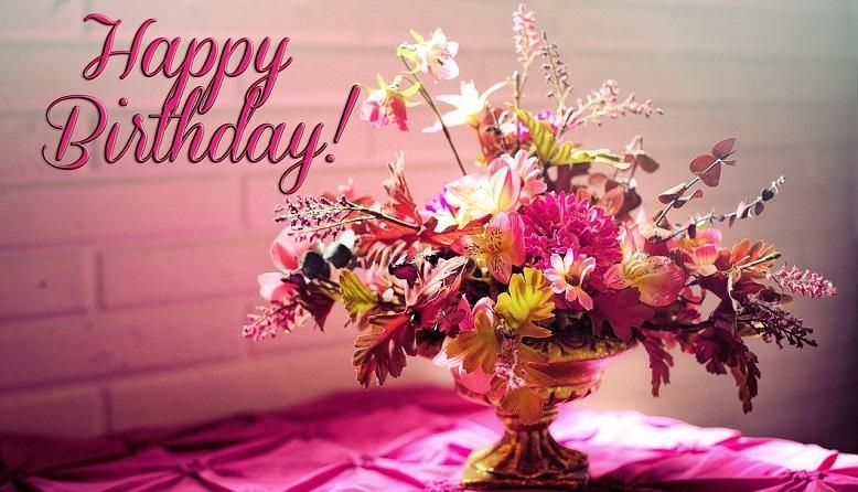 Floral Decoration Ideas -happy birthday