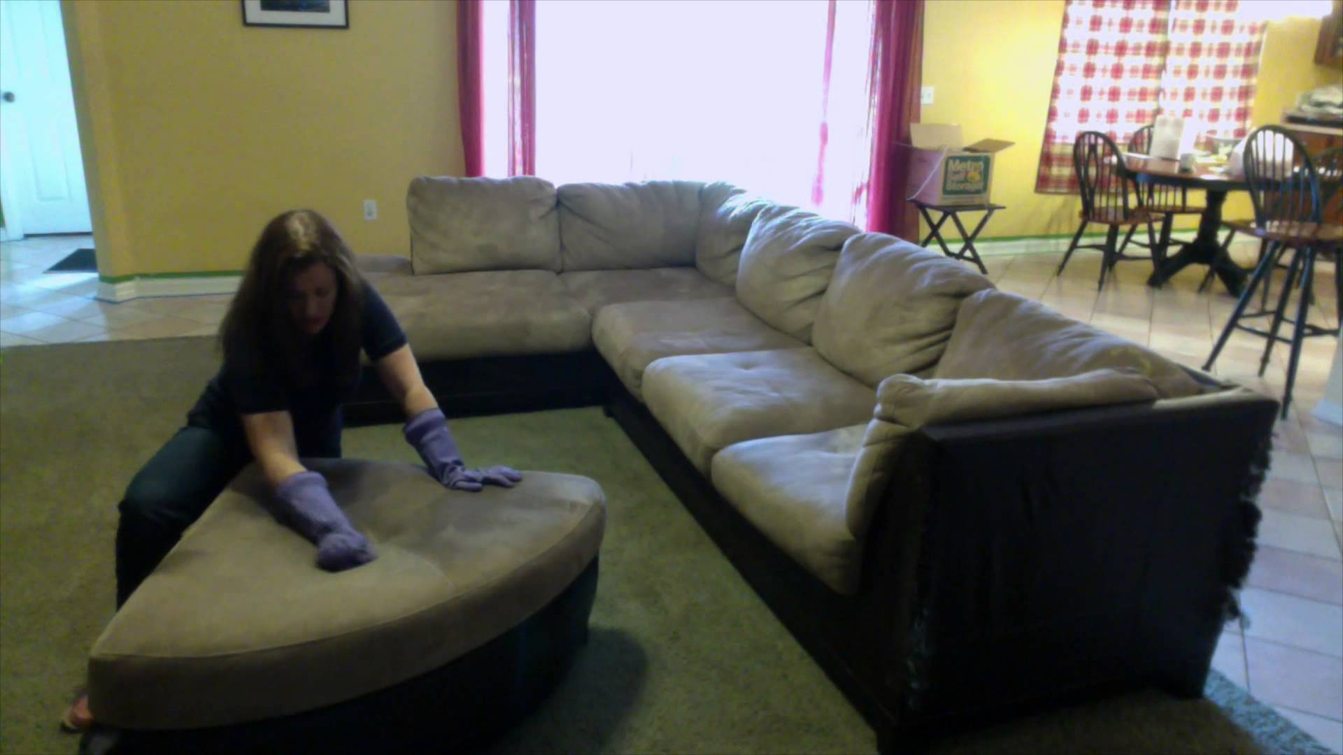 How to Clean a Microfiber Couch at Home