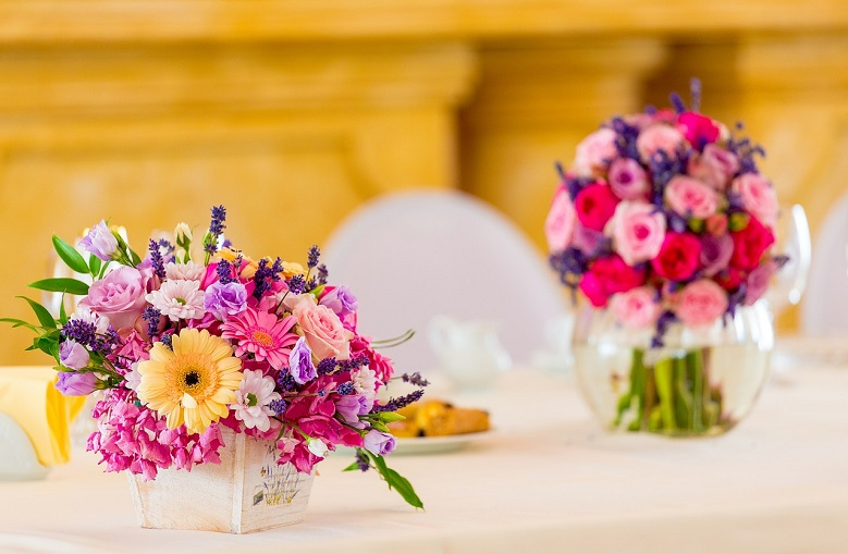 Mixed Bouquets for Decoration