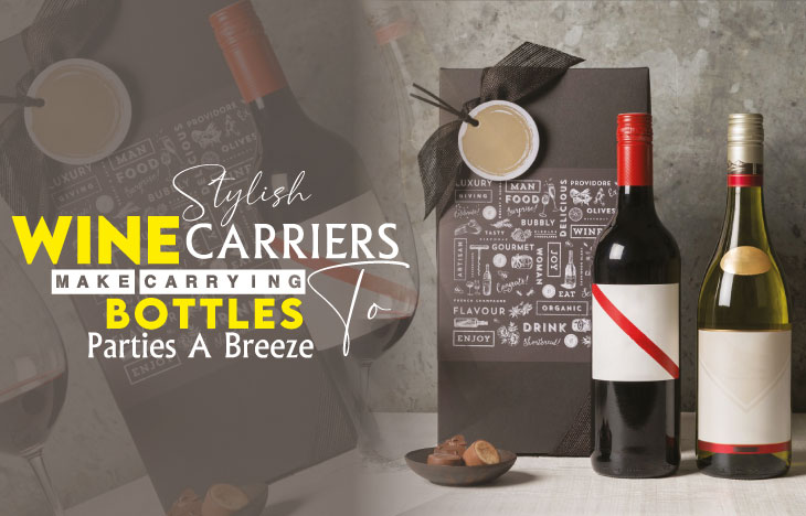 Stylish Wine Carriers Make Carrying Bottles to Parties a Breeze