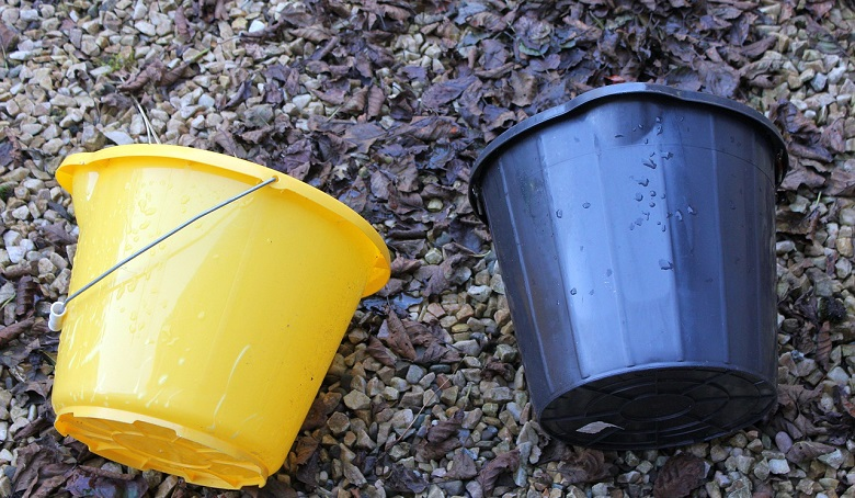 How to Clean Bucket - Removing Tough Lime Scaling