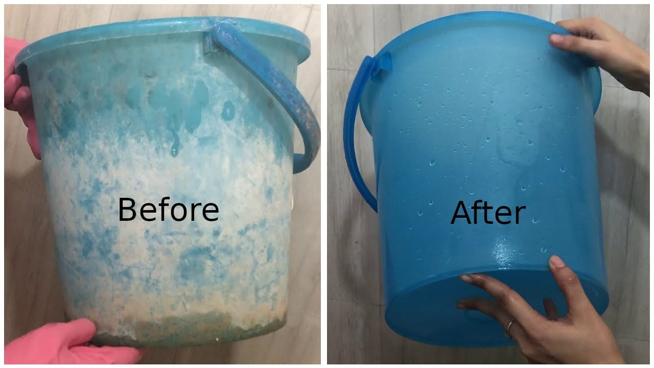 How to Clean Buckets