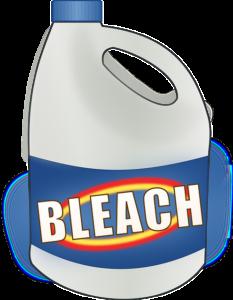 Bleach Disinfectant Spray