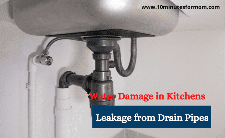 Water Damage in Kitchens due to Leakage