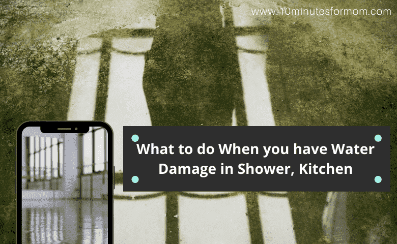 What to do When you have Water Damage